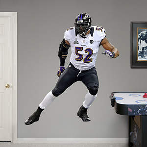 Ray Lewis Super Bowl XLVII Fathead Wall Decal